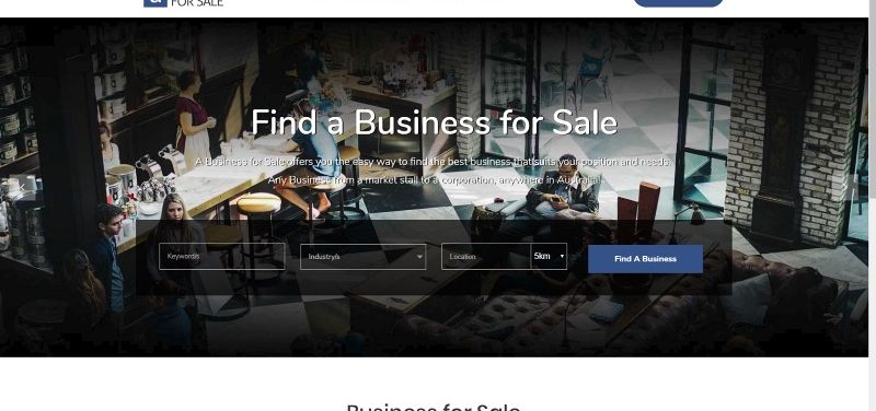 A Business for Sale