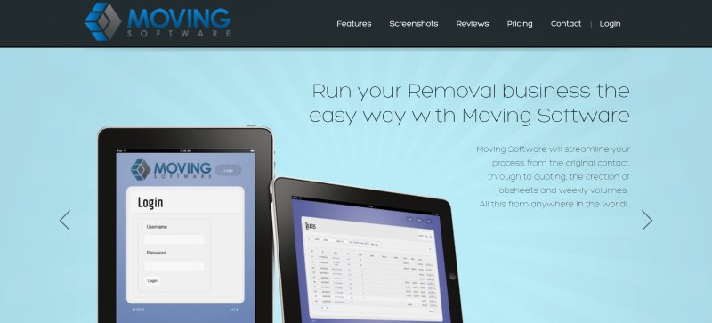 Removals Software Website